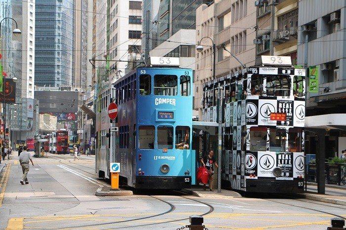 香港叮叮車。 圖/pixabay.com