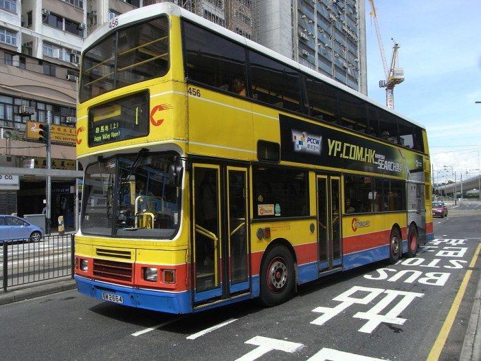 香港巴士。 圖/Imaouoclus via Wikimedia