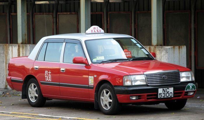 香港計程車。 圖/WiNG via Wikimedia
