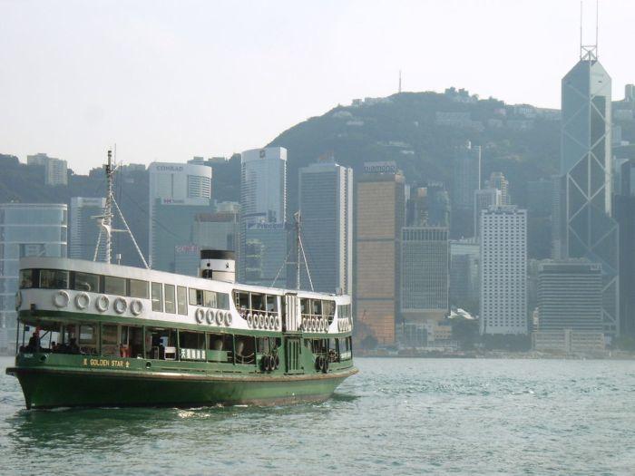 香港渡輪。 圖/HungBEER via Wikimedia