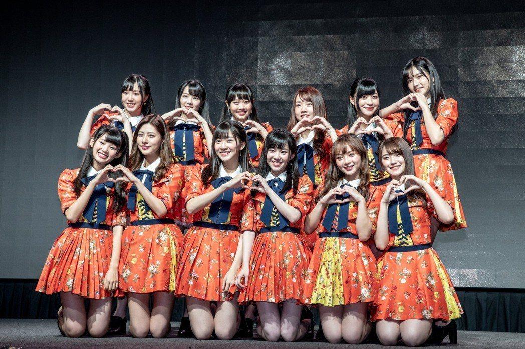 AKB48 Team TP正式出道。圖/好言娛樂提供