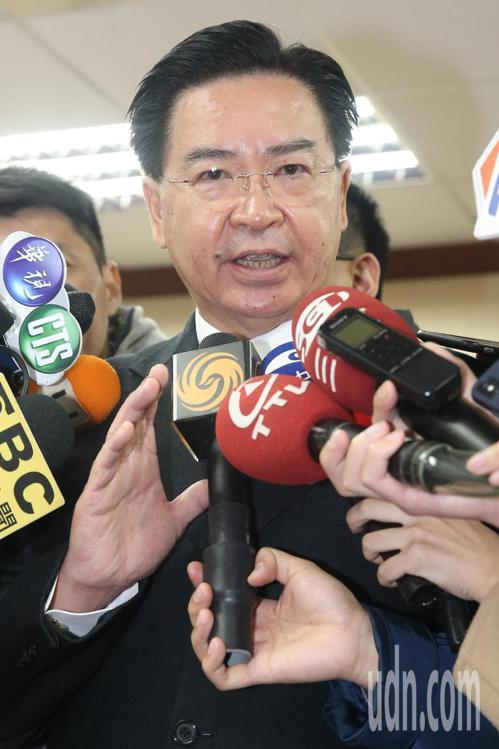 外交部長吳釗燮。記者林伯東/攝影