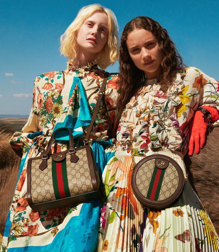 Ophidia托特包是Gucci近來賣到翻的包款系列。圖/Gucci提供