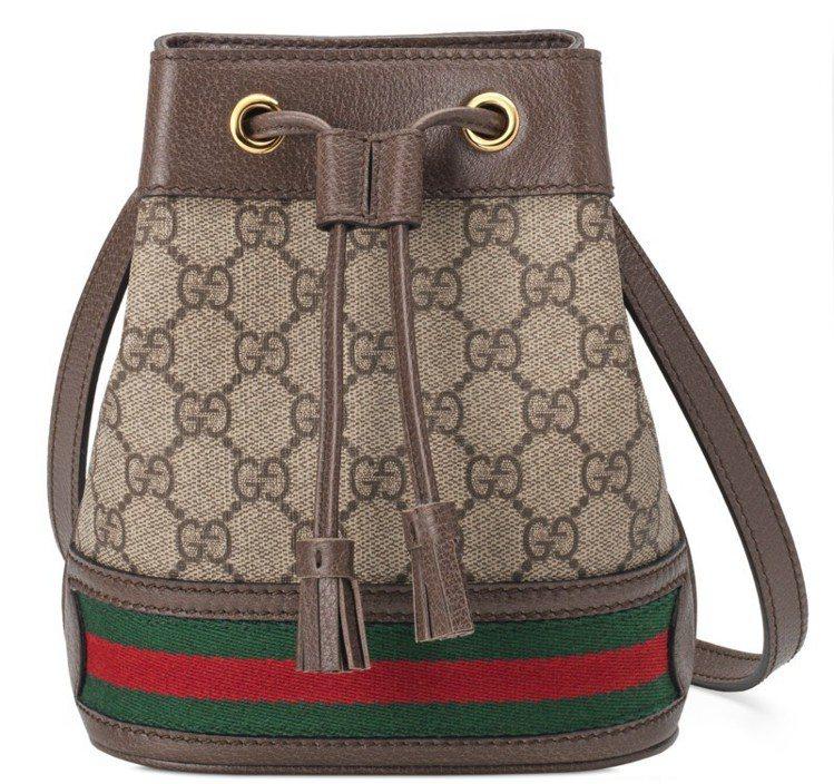 Ophidia系列迷你水桶包,37,600元。圖/Gucci提供
