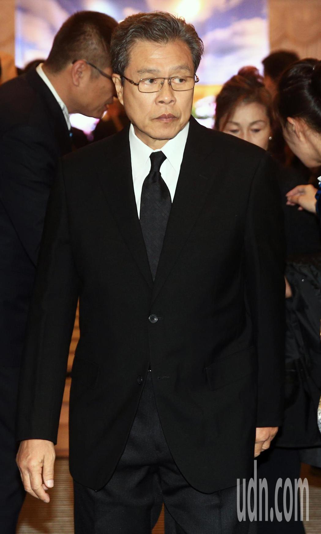 藝人楊烈出席。記者陳正興/攝影