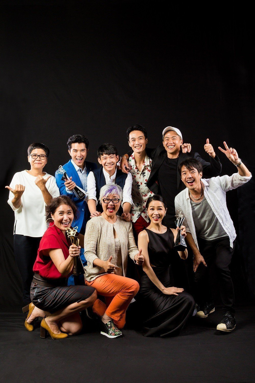 2018台北電影獎最佳劇情長片「誰先愛上他的」劇組。圖/台北電影節提供