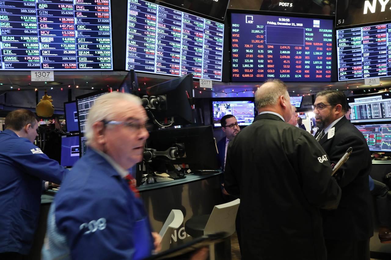 部分專家警告,明年全球股市表現將更糟糕。 法新社