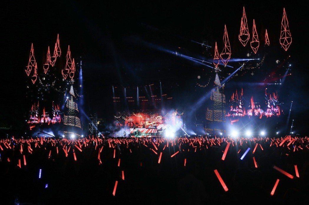 五月天24日演唱會找來吳宗憲當嘉賓。記者余承翰/攝影
