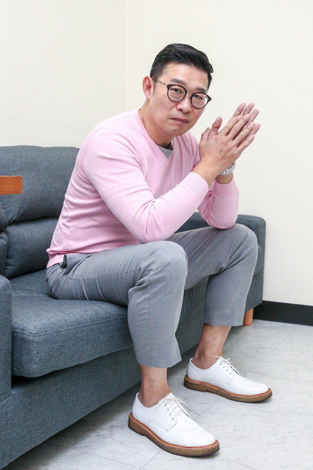 專訪「玩命貼圖」馬力歐。記者鄭清元/攝影