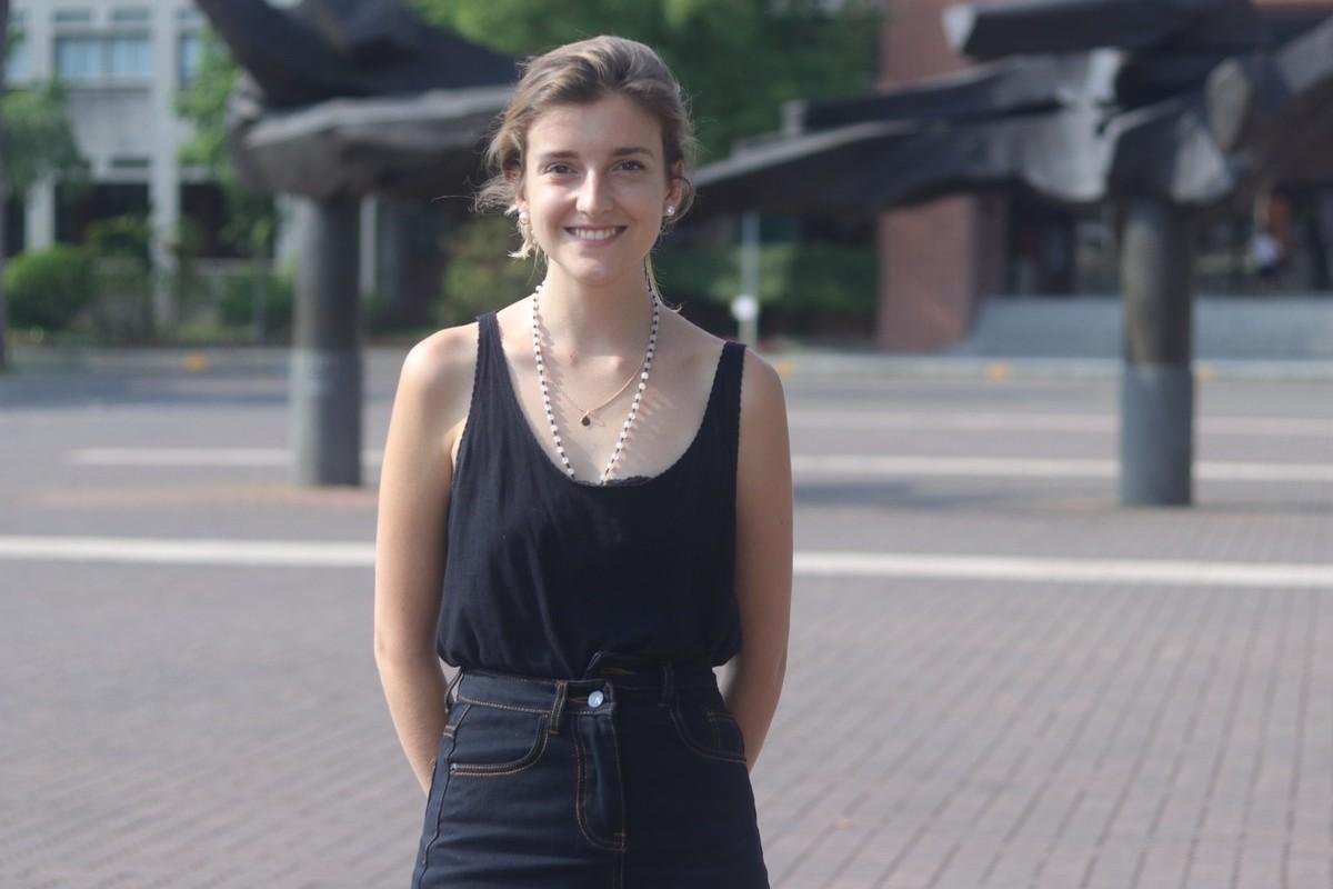 來自法國的蕾蕾(Clémence Royer)今年7月甫自成大航太工程所畢業。 ...