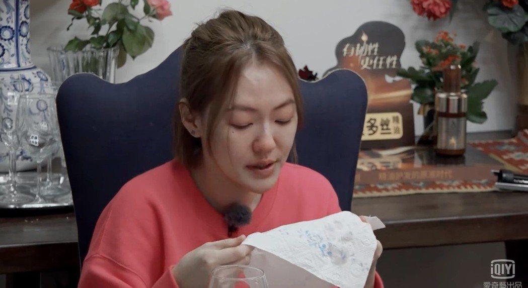 小S參加陸綜「小姐姐的花店」。 圖/擷自愛奇藝