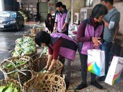 伴手禮1800顆高麗菜 基隆市長林右昌就職助宜蘭菜農