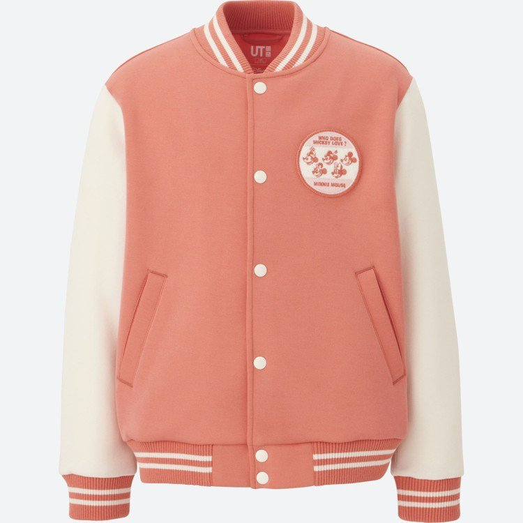 CELEBRATE MICKEY UT系列童裝布勞森外套,790元。圖/UNIQ...