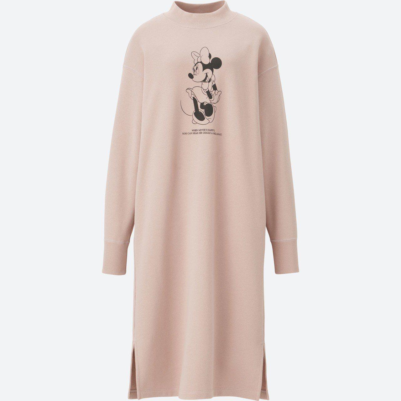 CELEBRATE MICKEY UT系列女裝休閒洋裝,990元。圖/UNIQL...