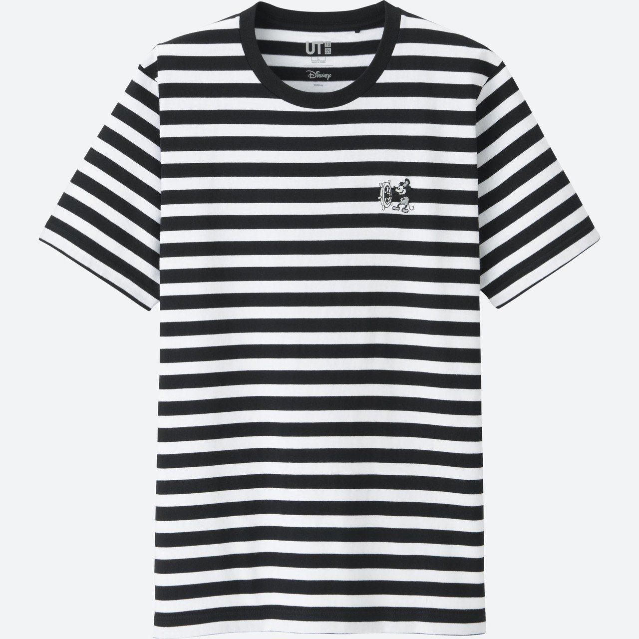 CELEBRATE MICKEY UT系列男裝T恤,590元。圖/UNIQLO提...