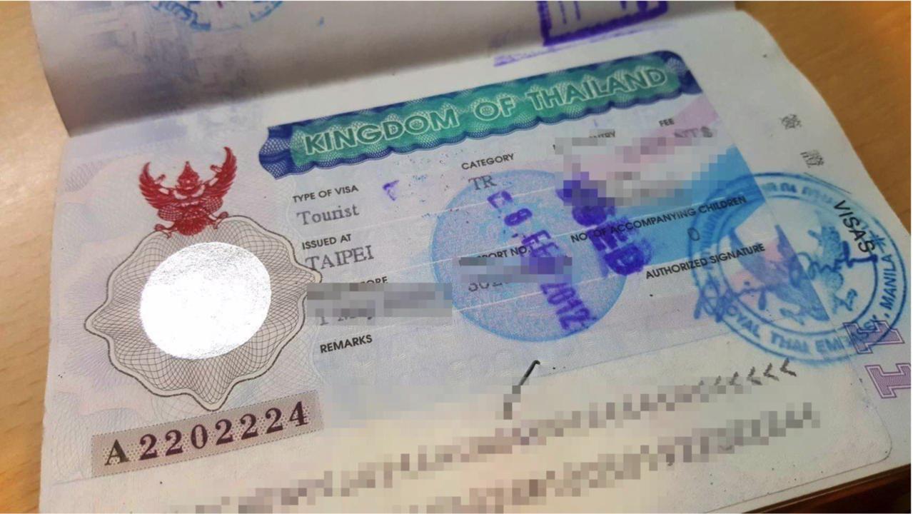 泰國針對21個國家落地簽免費政策。記者陳睿中/攝影