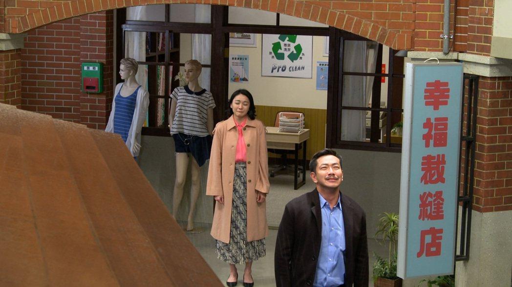 江俊翰、江祖平演出「大時代」。圖/民視提供