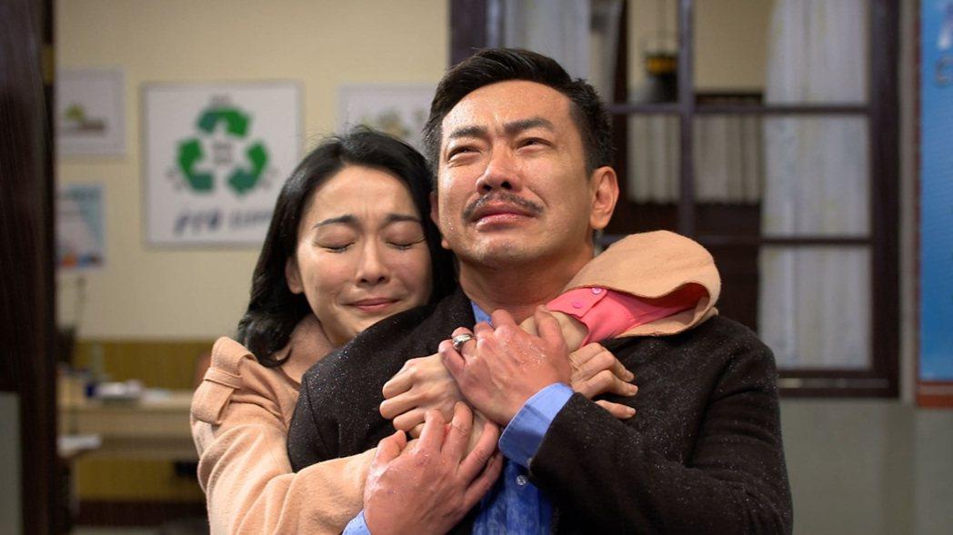 江俊翰回歸「大時代」,和江祖平的對手戲立刻爆哭。圖/民視提供
