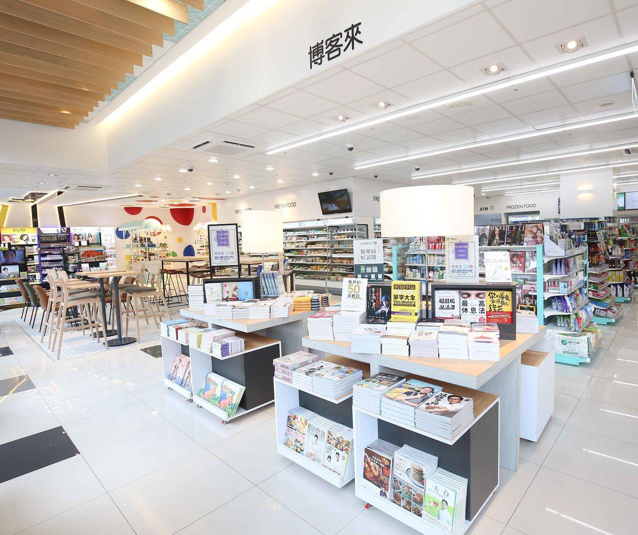 博客來走出電商,成為首家與7-ELEVEN複合的實體書店,地點位於7-ELEVE...