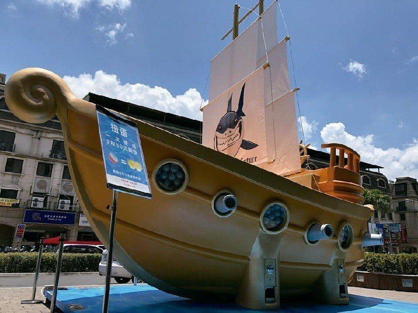 京站推出夢想起航扭出新好運活動。圖/京站時尚廣場提供