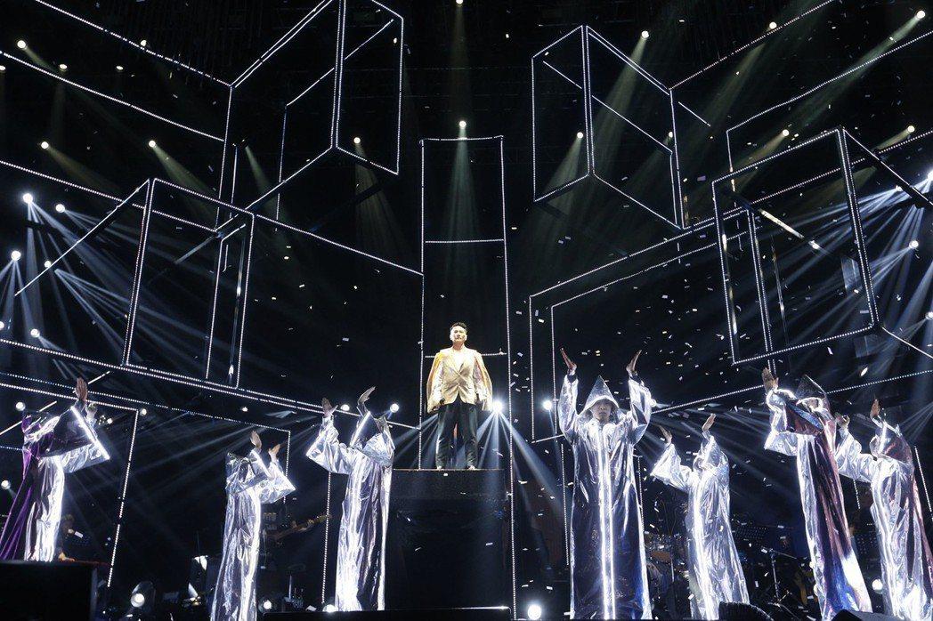 張信哲剛結束世界巡迴演唱會深圳站。圖/潮水音樂提供
