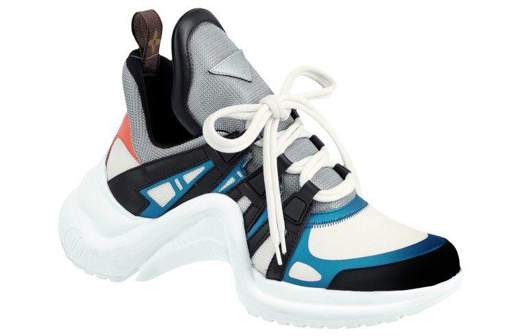 路易威登的Archlight厚底運動鞋是今年大熱款。圖/LV提供