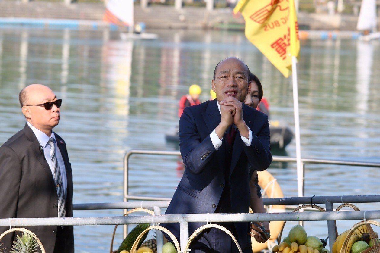 高雄市長韓國瑜上任,將帶領高雄在南方崛起。 圖/高雄市新聞局提供