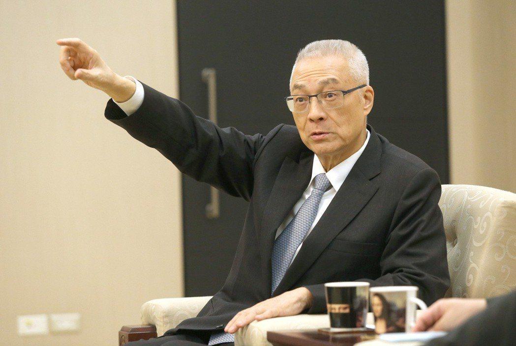 前副總統吳敦義。記者高彬原/攝影