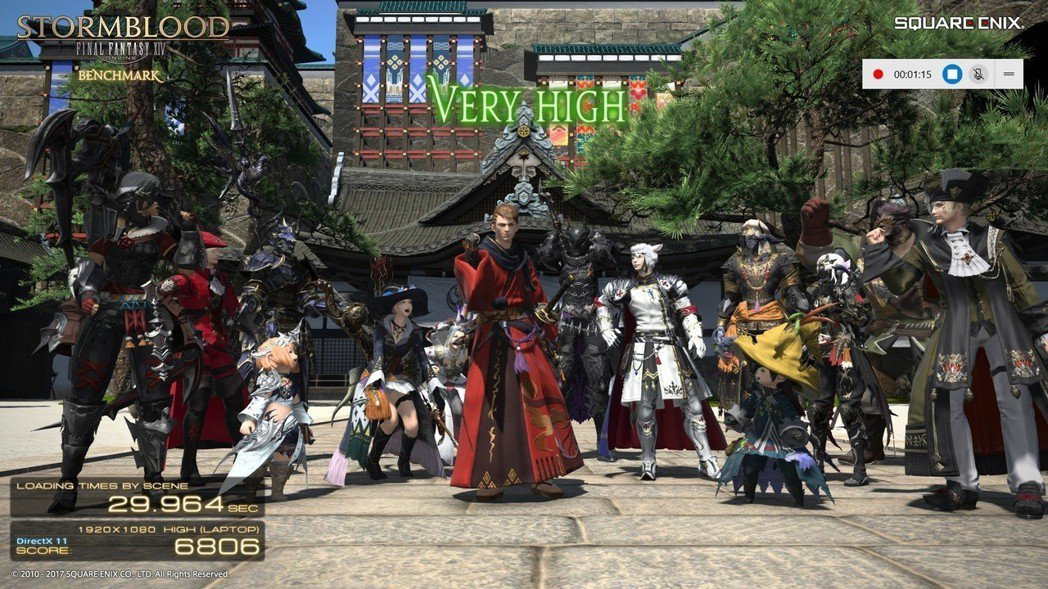 FINAL FANTASY XIV:Stormblood則取得Very High...