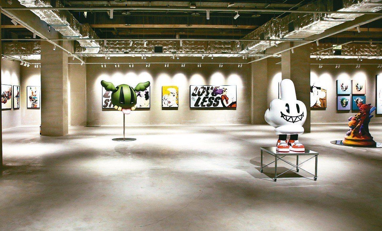 超過200餘件繪畫與雕塑創作真跡總值破億元。 台北文華東方酒店/提供