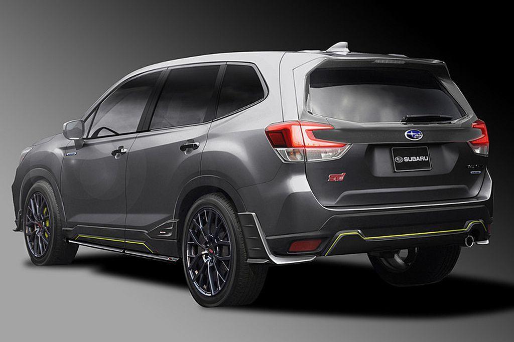 基於Subaru Forester Advance車型,以獨家戰鬥機灰車色、外觀...