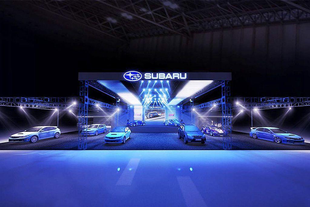 Subaru汽車宣布2019東京改裝車展陣容。 圖/Subaru提供