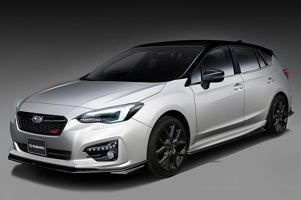 Subaru Impreza(STI Concept Model)概念車。 圖/...