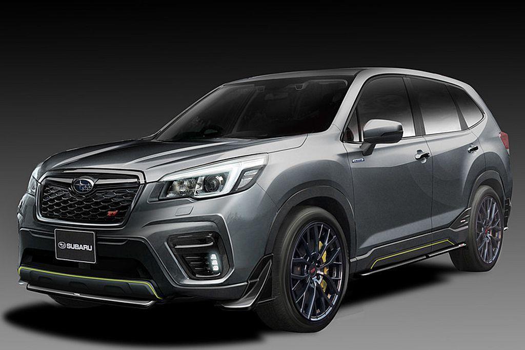 Subaru Forester(STI Concept Model)概念車。 圖...