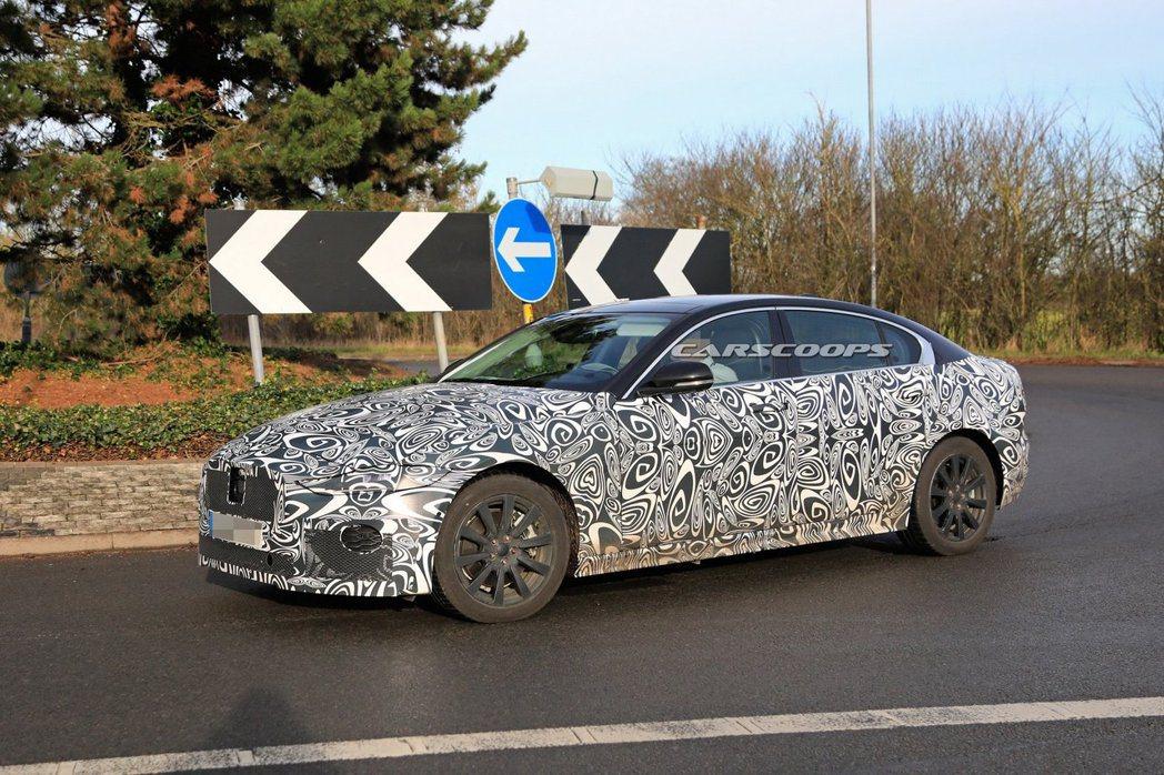 Jaguar XE小改款將會新增48V輕油電系統。 摘自Jaguar