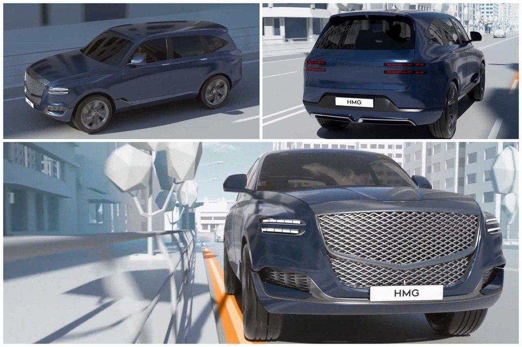 疑似是Genesis首款休旅的身影,在Hyundai近期一支安全配備宣傳影片曝光...