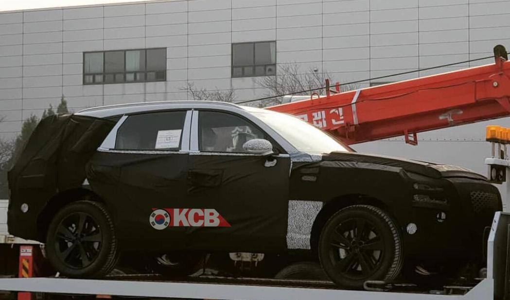 Genesis首款SUV即將誕生。 摘自Korean Car Blog