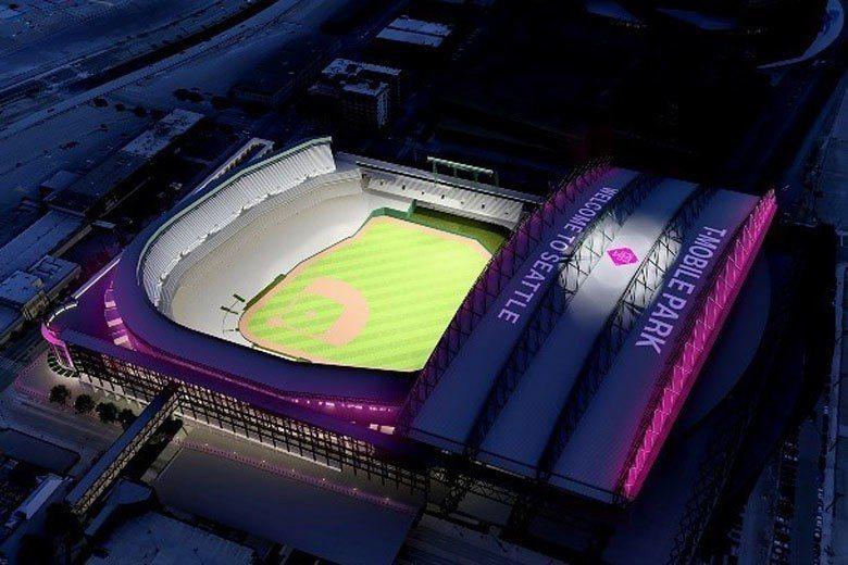 水手與Safeco保險公司合約到期,球場冠名將由T-Mobile接手,2019年...