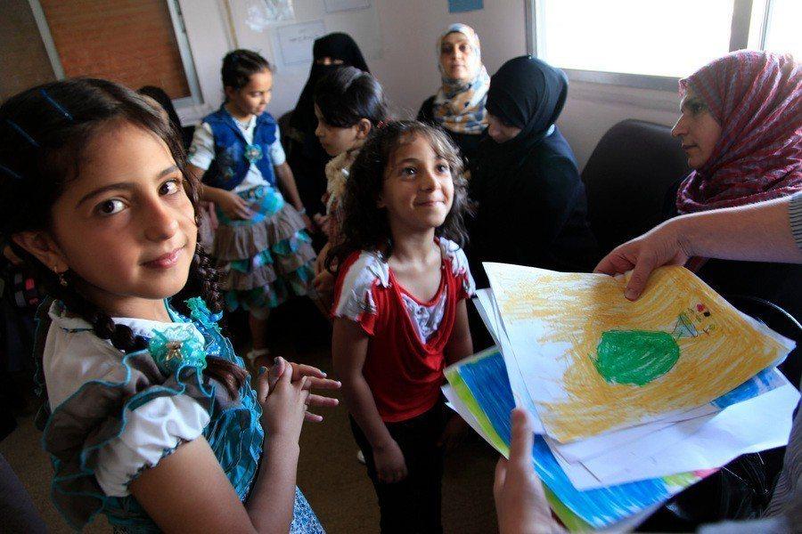 中東難民面對茫茫未來,仍需外界給予關注。(Photo by DFID - UK ...