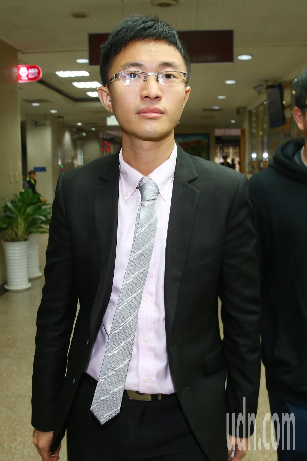 新黨台北市議員侯漢廷。 聯合報系資料照/記者曾學仁攝影