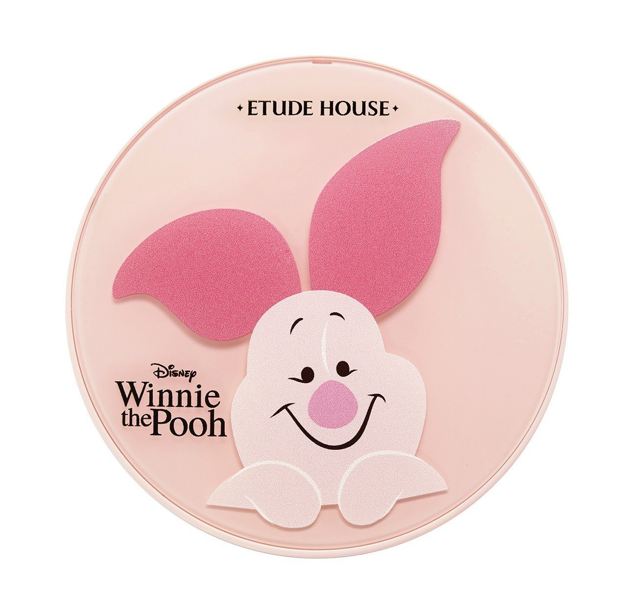 ETUDE HOUSE Happy With Piglet限定版氣墊粉餅盒,售價...