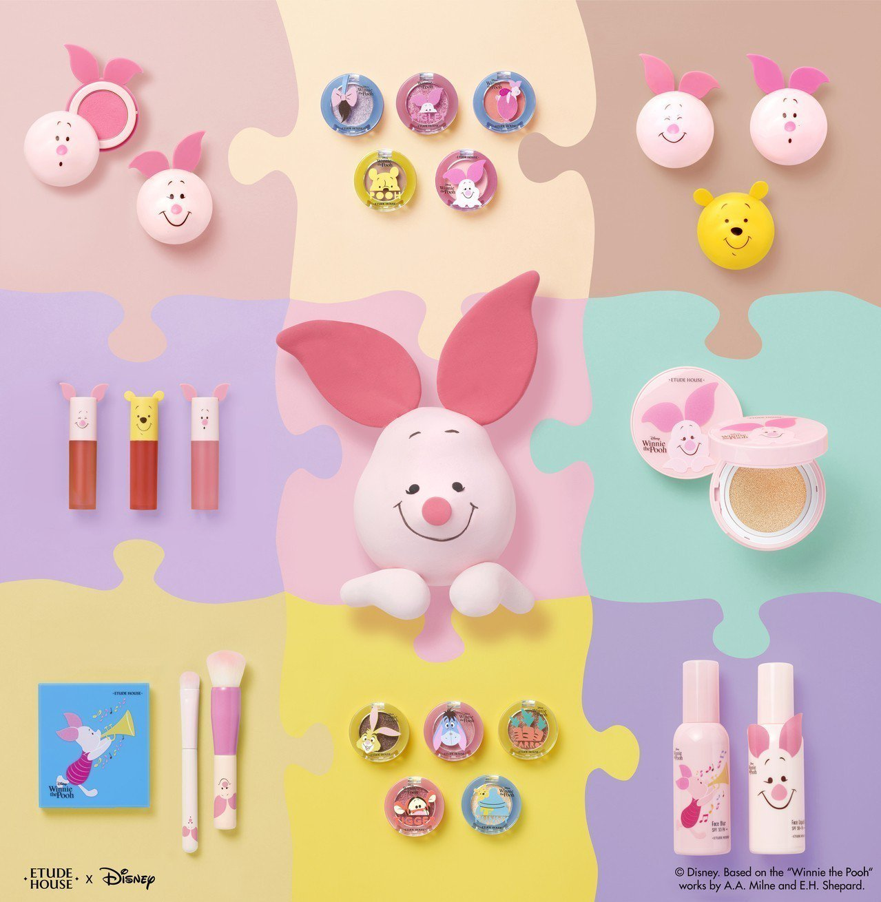 Happy With Piglet幸福每一天系列。 ETUDE HOUSE/提供
