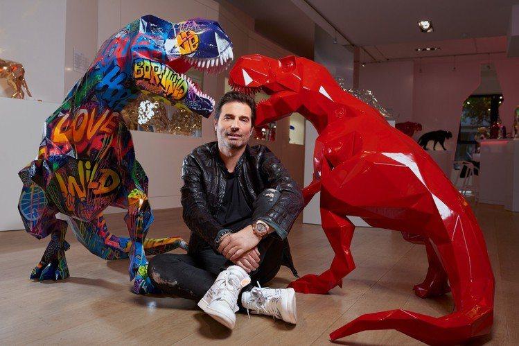 宇舶表將在2019年的日內瓦表展,推出與藝術家Richard Orlinski合...
