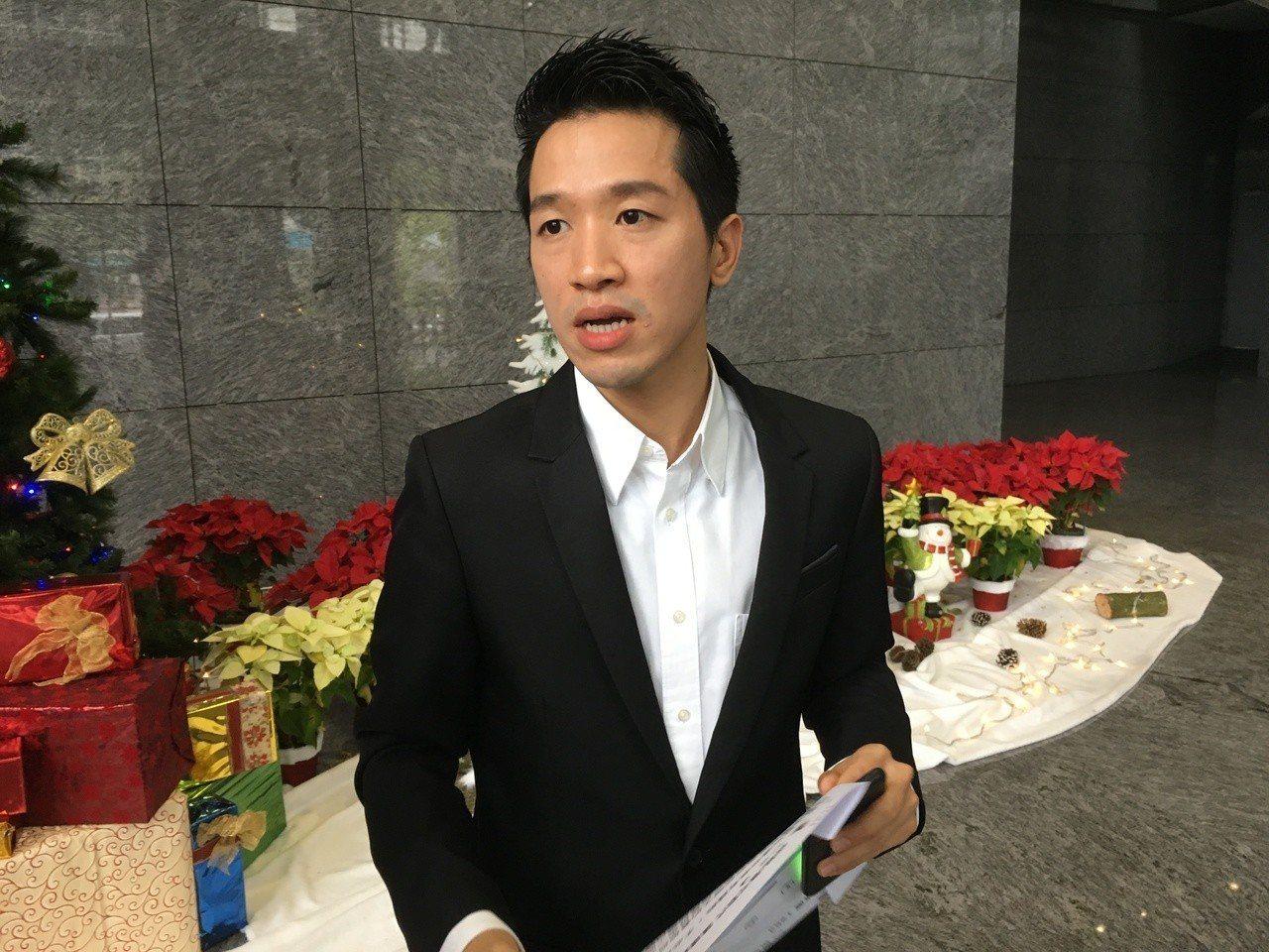 台北市士林大同區立委補選,民進黨參選人何志偉。記者張世杰/攝影