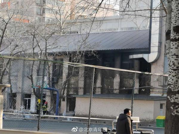 北京交通大學一實驗室上午發生爆炸,造成三名學生死亡。圖/取自北京青年報