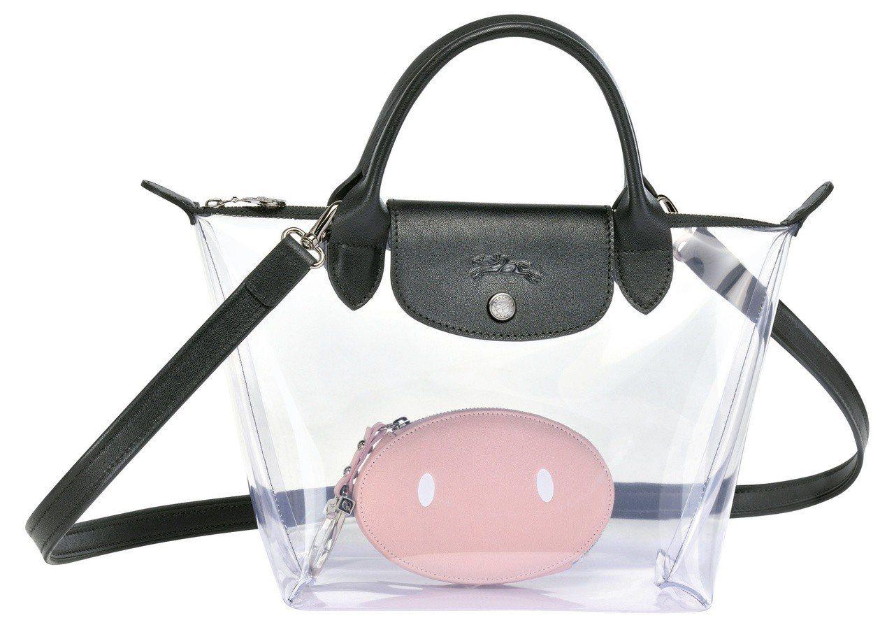 LONGCHAMP x Mr. Bags限量聯名托特包,售價13,300元。圖/...
