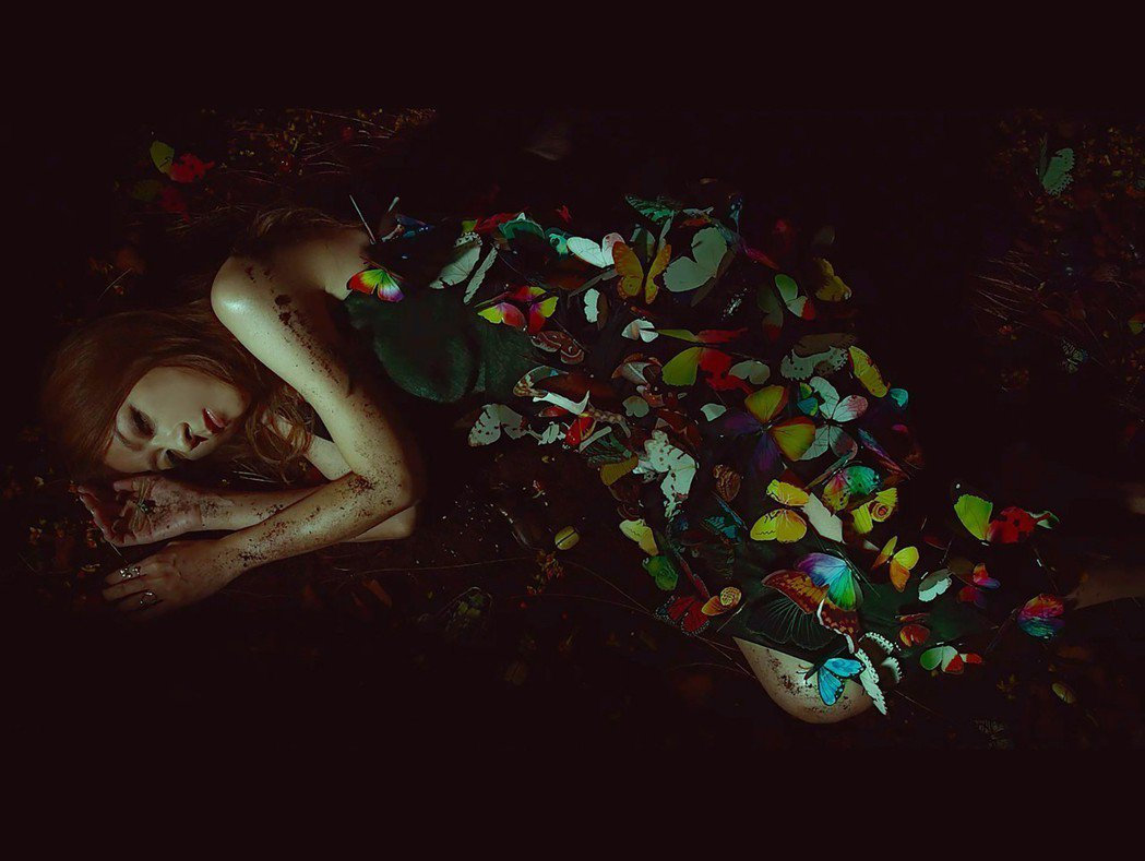 陳綺貞在新專輯「沙發海」飾演反派。圖/KKBOX提供