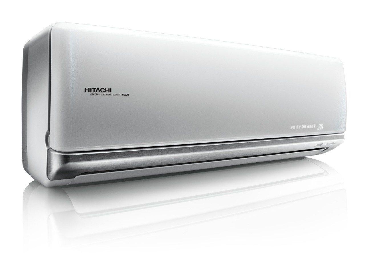 日立變頻冷氣頂級系列,壓縮機日本製造,兼具品質與美感。圖/台灣日立江森自控提供