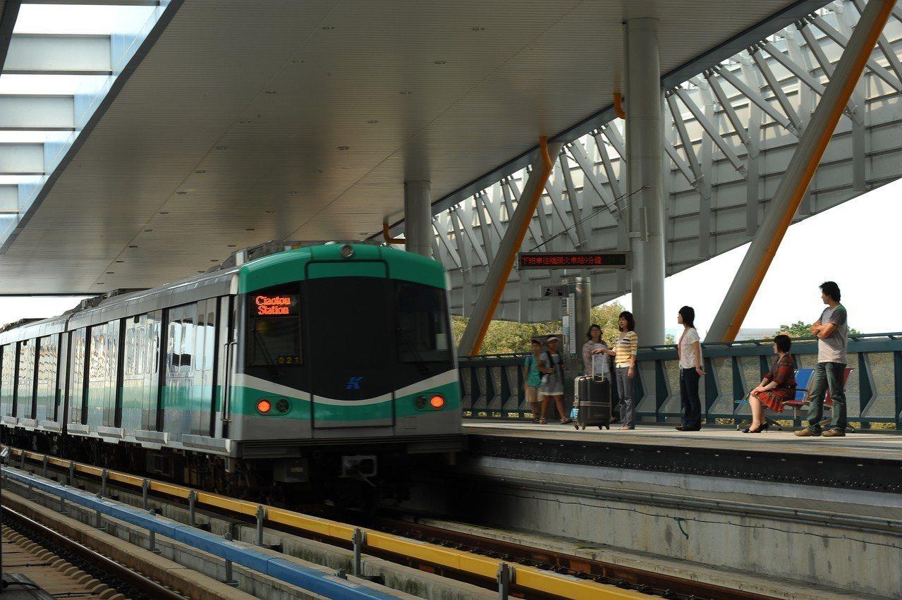 高雄市爭取第三條捷運黃線,交通部9月曾通過市府提出的可行性研究報告。圖/本報資料...