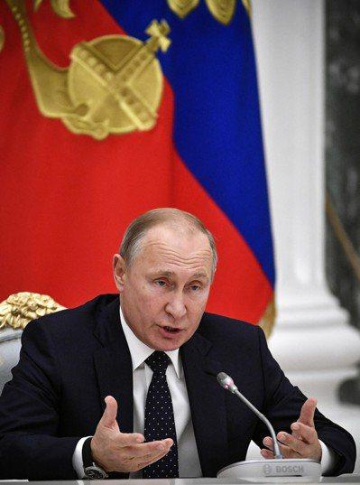 俄羅斯總統普亭。(歐新社)